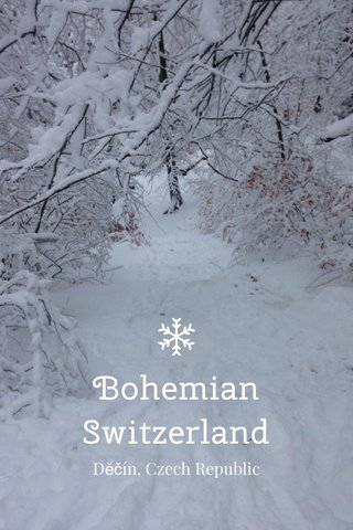 Bohemian Switzerland Děčín, Czech Republic