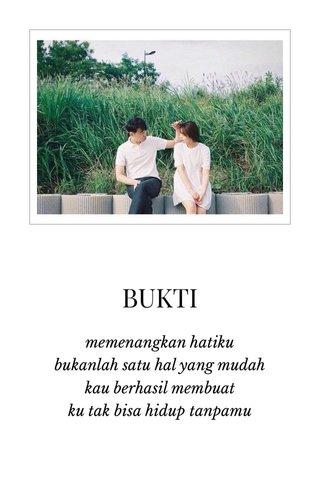 BUKTI