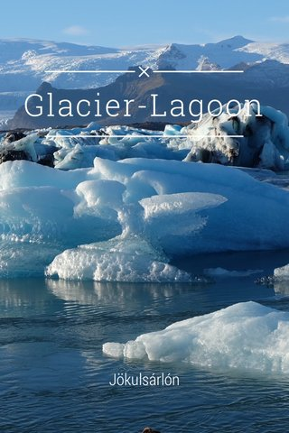 Glacier-Lagoon Jökulsárlón