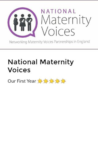 National Maternity Voices