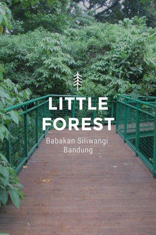 LITTLE FOREST Babakan Siliwangi Bandung