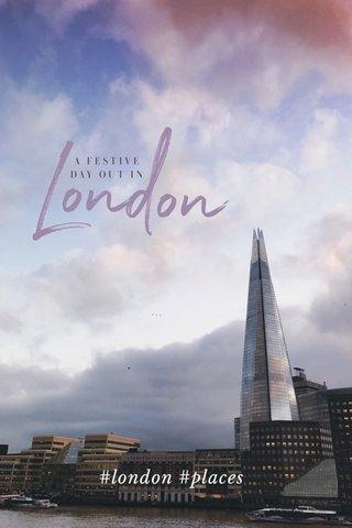 #london #places
