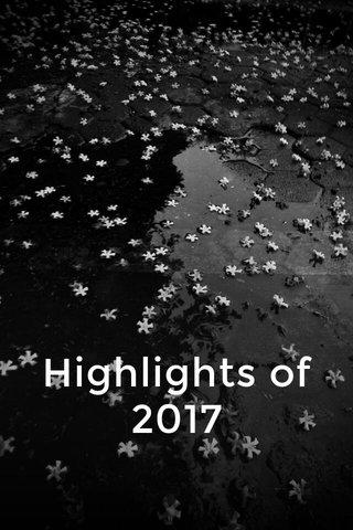 Highlights of 2017