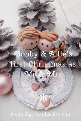 Bobby & Allie's first Christmas as Mr & Mrs Featuring Frankie the Pup