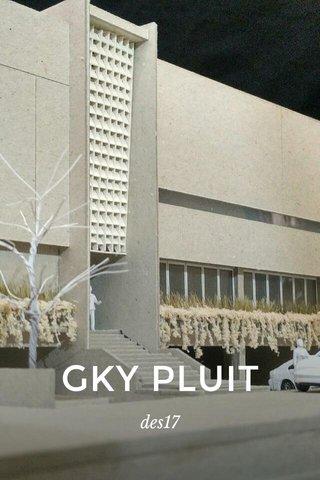 GKY PLUIT des17