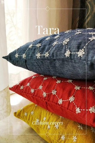 Tara Cushion covers