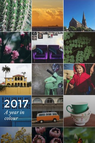 2017 A year in colour
