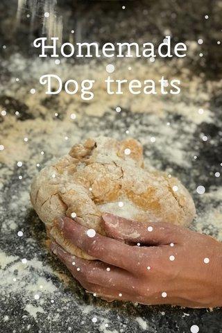 Homemade Dog treats dog treats