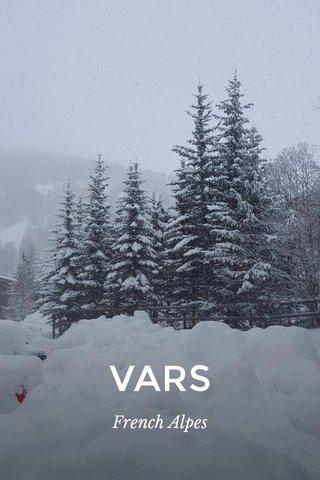 VARS French Alpes