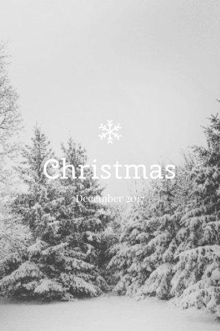 Christmas December 2017