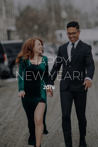 HAPPY NEW YEAR! 2018