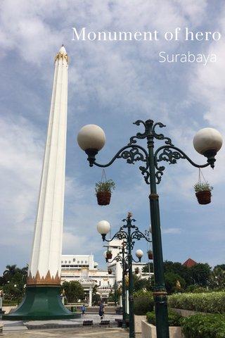 Monument of hero Surabaya