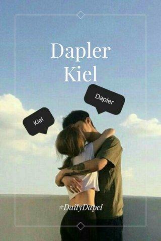 Dapler Kiel #DailyDapel