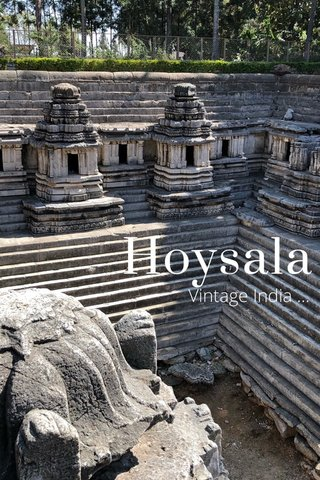 Hoysala Vintage India ...