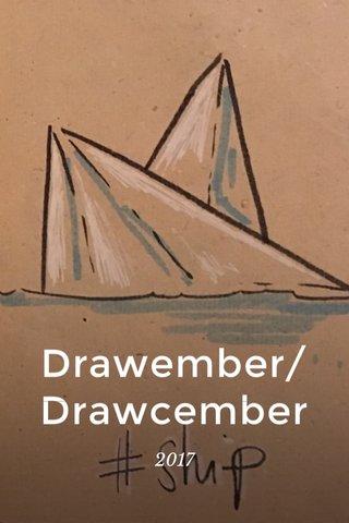Drawember/Drawcember 2017