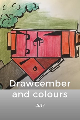 Drawcember and colours 2017
