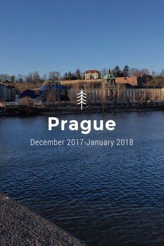 Prague December 2017-January 2018