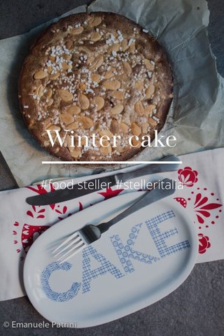 Winter cake #food steller #stelleritalia