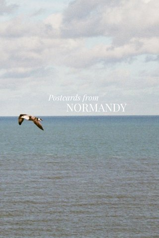 NORMANDY Postcards from