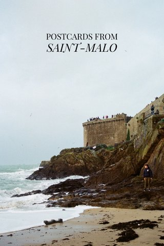 SAINT-MALO POSTCARDS FROM