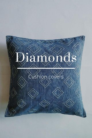 Diamonds Cushion covers