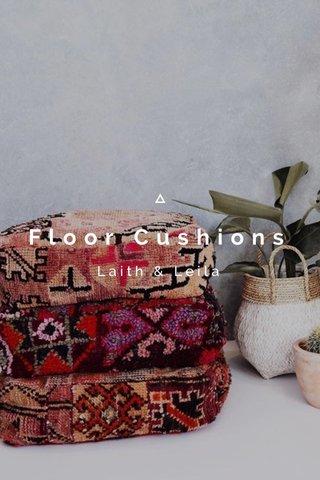 Floor Cushions Laith & Leila