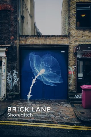BRICK LANE Shoreditch