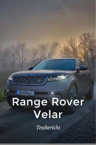 Range Rover Velar Testbericht