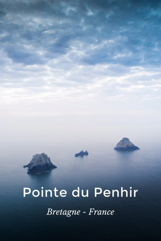 Pointe du Penhir Bretagne - France