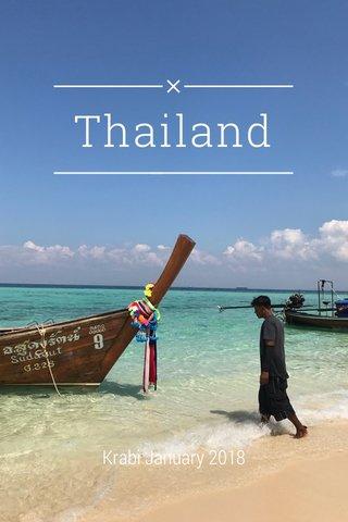 Thailand Krabi January 2018