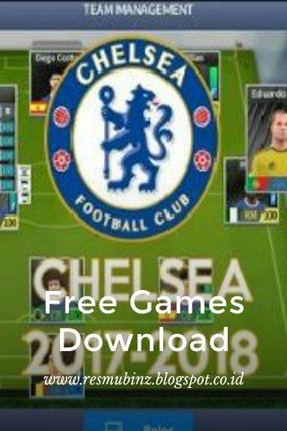 Free Games Download www.resmubinz.blogspot.co.id