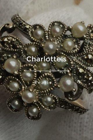 Charlotte's Pearls...