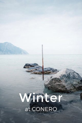 Winter at CONERO