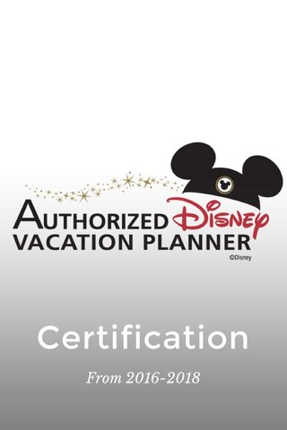 Certification From 2016-2018