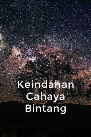 Keindahan Cahaya Bintang