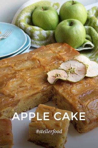 APPLE CAKE #stellerfood