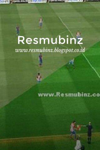 Resmubinz www.resmubinz.blogspot.co.id