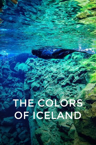THE COLORS OF ICELAND