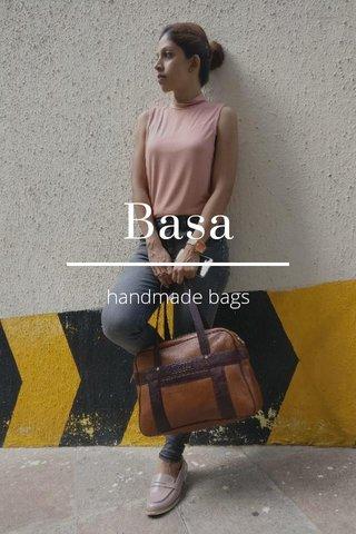 Basa handmade bags
