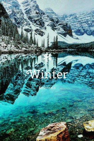 Winter Kelowna
