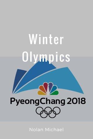 Winter Olympics Nolan Michael