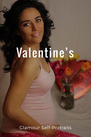Valentine's Glamour Self-Portraits