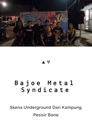 Bajoe Metal Syndicate