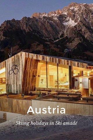 Austria Skiing holidays in Ski amadé