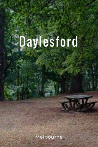 Daylesford Melbourne