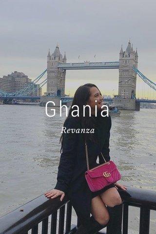 Ghania Revanza