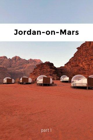 Jordan-on-Mars part I