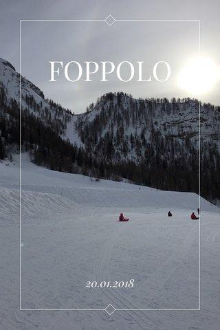 FOPPOLO 20.01.2018