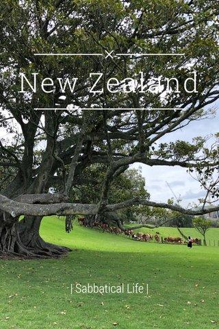 New Zealand   Sabbatical Life  