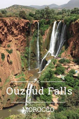 Ouzoud Falls MOROCCO